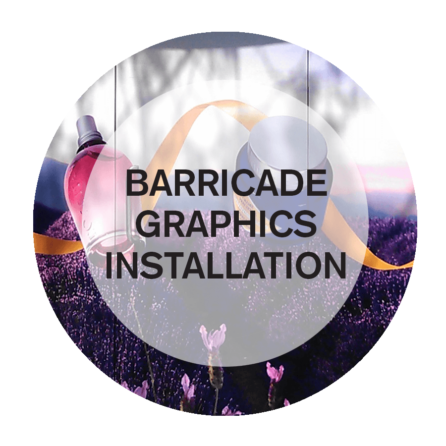 Barricade Graphics Installation in NYC