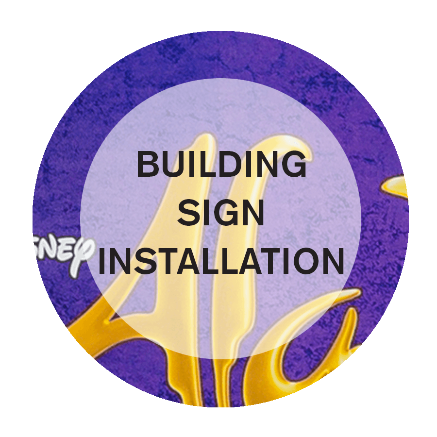 Building Sign Installation Services in NYC