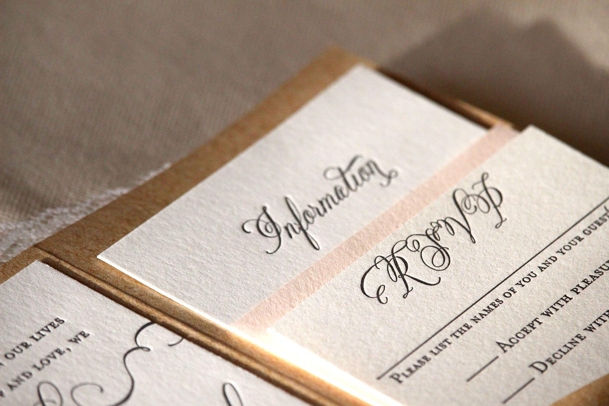 Letterpress Wedding Invitations Nyc Gallery Party Ideas New York City Custom Printing Services Vsl