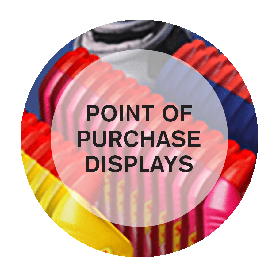 speciality design for point of purchase displays in NYC