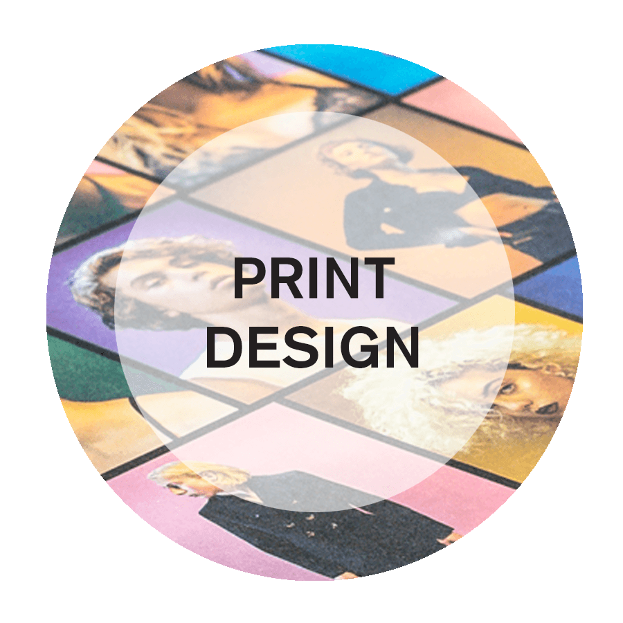 Print Design Services in NYC
