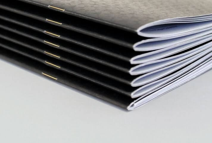 Saddle Stitch Binding- Pre-press Process in NYC