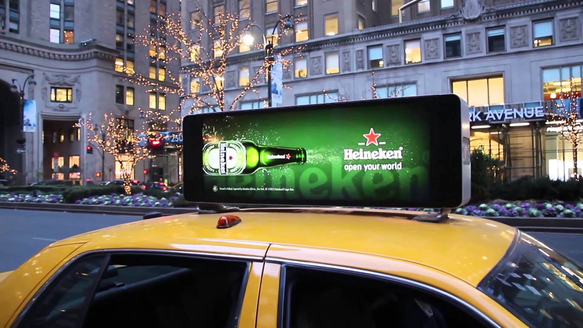 Begin to Use Digital Taxi Top Advertising in NYC