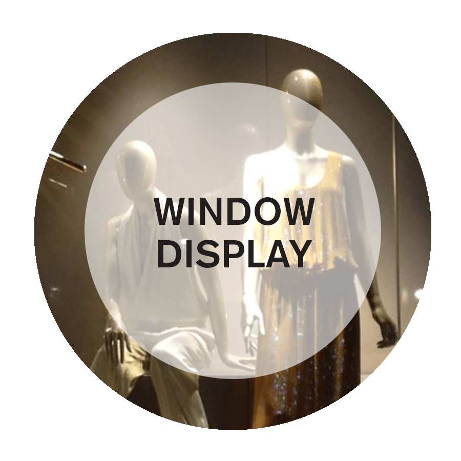 speciality design for window display in NYC