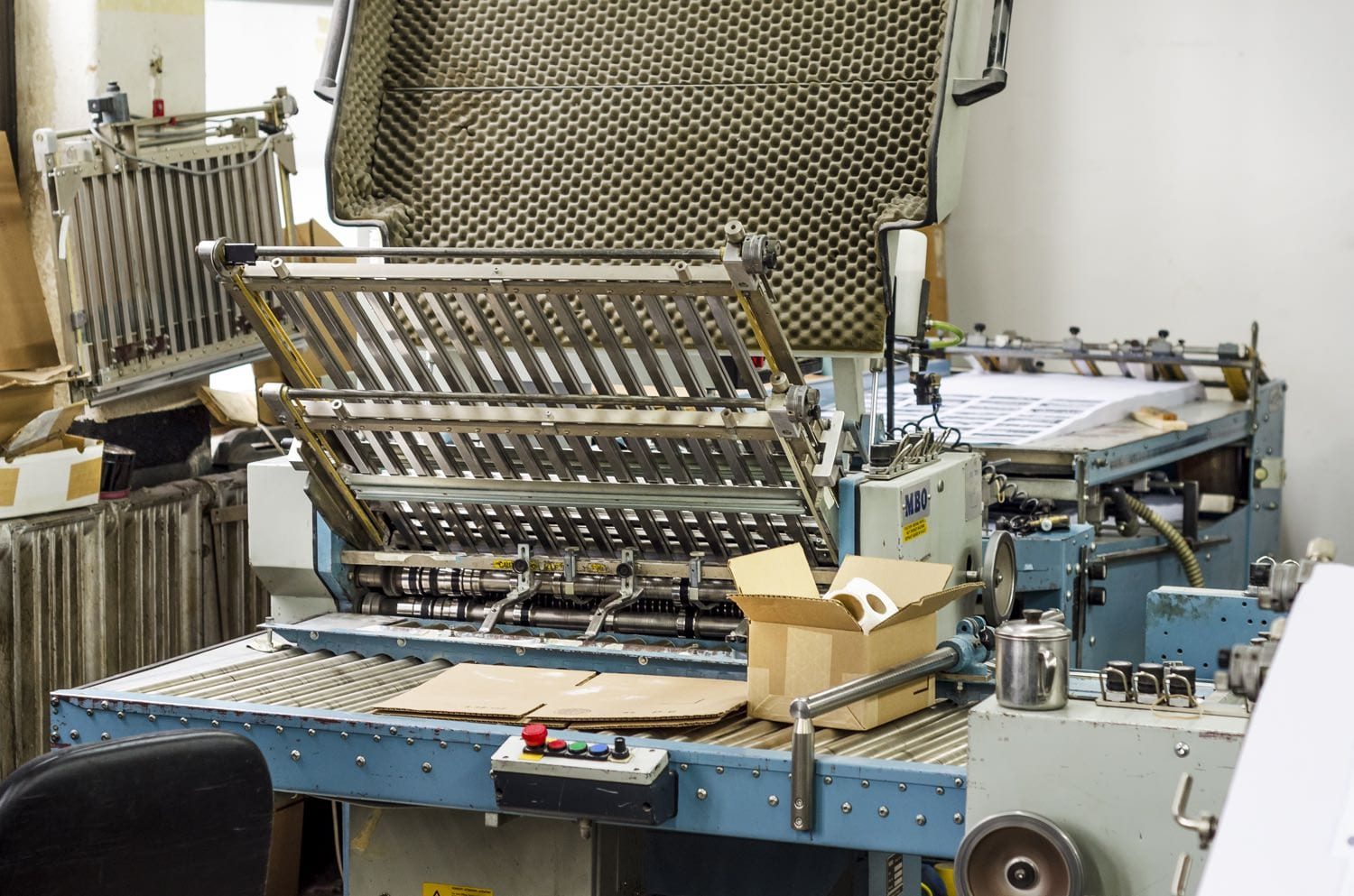 Varick Street Litho has the Best Paper Folding Machines in NYC for your print Needs