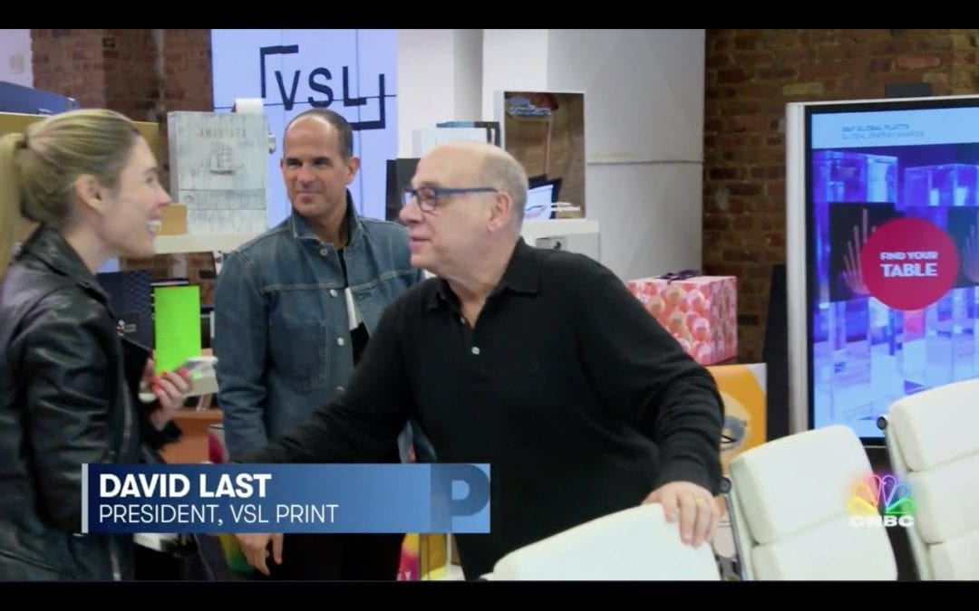 VSL Print Featured on NBC's The Profit